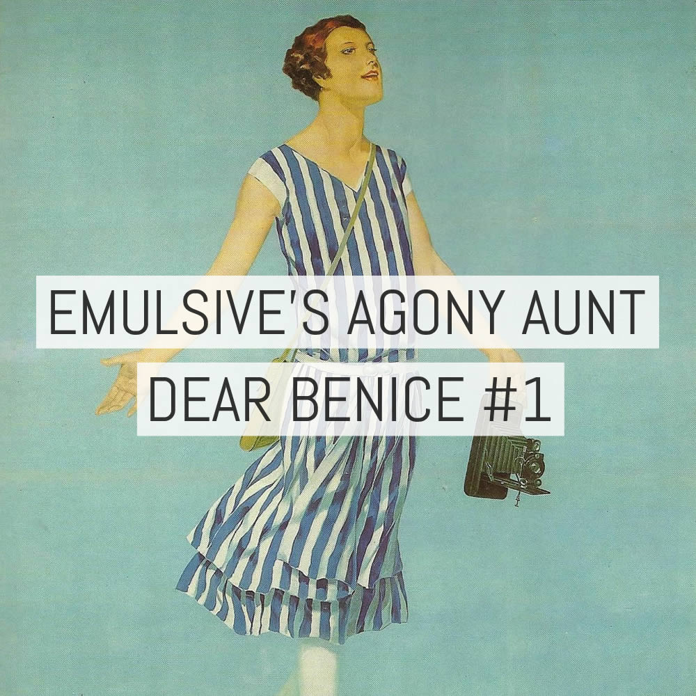 EMULSIVE's agony aunt - Dear Benice #1: How can I let people know I'm still shooting film?